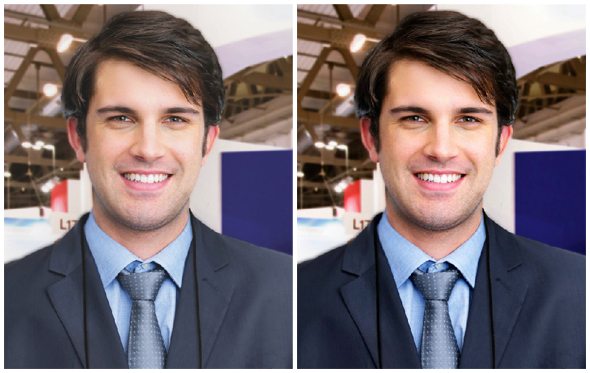 Photo Adjustments for a Better Looking Photo ID Card - Contrast