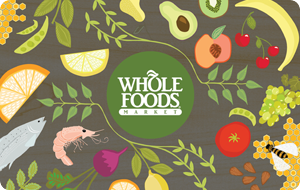 Whole Foods Gift Card Design