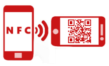 What are the differences between NFC tags and QR codes?